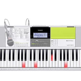 カシオ(CASIO)のCASIO 光ナビゲーション 電子キーボード LK511 スタンド付き(キーボード/シンセサイザー)
