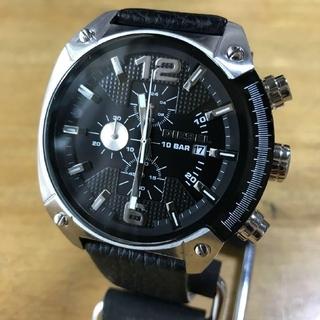 ディーゼル(DIESEL)の【新品】ディーゼル オーバーフロー クロノ クオーツ 腕時計 DZ4375(腕時計(アナログ))