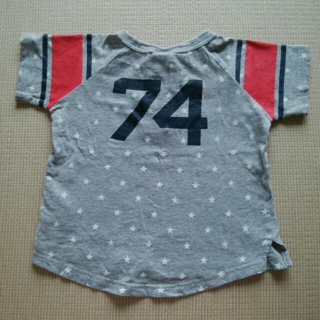 Champion(チャンピオン)のチャンピオン Tシャツ サイズ110 キッズ/ベビー/マタニティのキッズ服男の子用(90cm~)(Tシャツ/カットソー)の商品写真