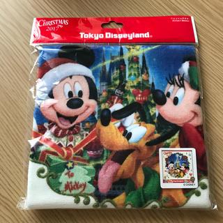 Disney - ディズニーランド 2017年 クリスマス タオル