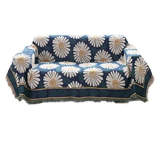 コットン 素材 130cm×180cm ベッド ソファー マルチ カバー テーブ(ソファカバー)