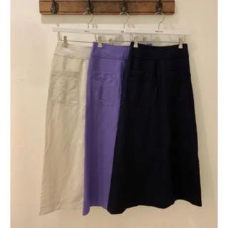 Mila Owen - ミラオーウェン パッチポケット付Aラインスカート