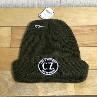 ニット帽 ビーニー ニットキャップ cz zombie 男女兼用 新品未使用(ニット帽/ビーニー)