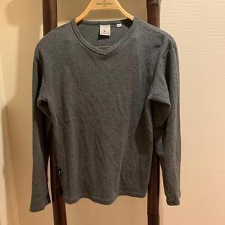 アヴィレックス(AVIREX)のAVIREX カットソー Vネック(Tシャツ/カットソー(七分/長袖))