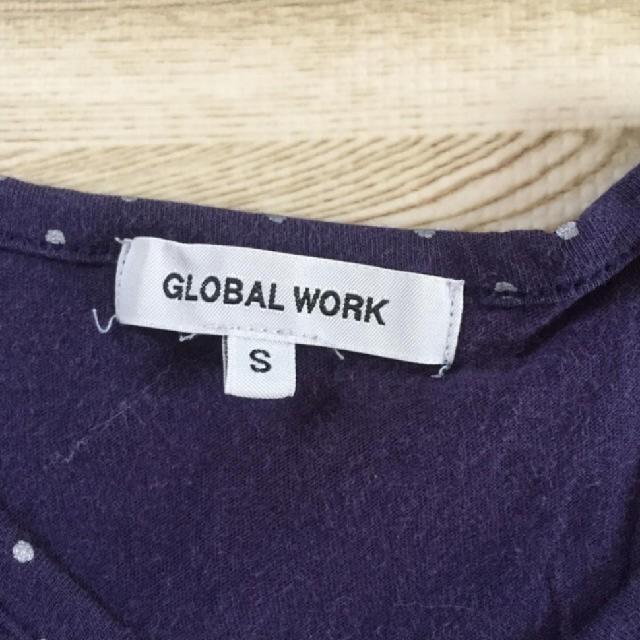 GLOBAL WORK(グローバルワーク)のGLOBAL WORK トップス S キッズ/ベビー/マタニティのキッズ服女の子用(90cm~)(Tシャツ/カットソー)の商品写真