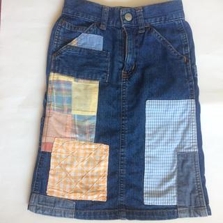 グローバルワーク(GLOBAL WORK)のデニムスカート 90cm グローバルワーク(スカート)
