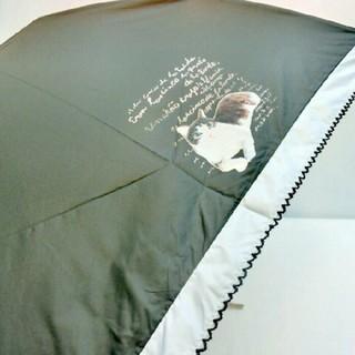 マンハッタナーズ(Manhattaner's)の新品 マンハッタナーズ フェデリコ 晴雨兼用 折り畳み傘 猫 UVカット 遮光(傘)