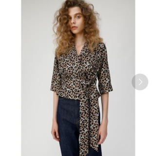 moussy - マウジー レオパード  シャツ ジャケット
