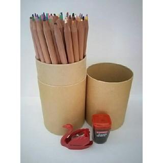 ムジルシリョウヒン(MUJI (無印良品))のおまけ付き 無印良品 色鉛筆 60色セット(色鉛筆)