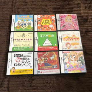 ニンテンドーDS(ニンテンドーDS)のNintendo DS ソフト 10個/ゲームボーイアドバンスソフト 2個セット(携帯用ゲームソフト)