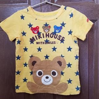 mikihouse - ミキハウス プッチー ぷっちースター 星 半袖 Tシャツ 黄色 イエロー110