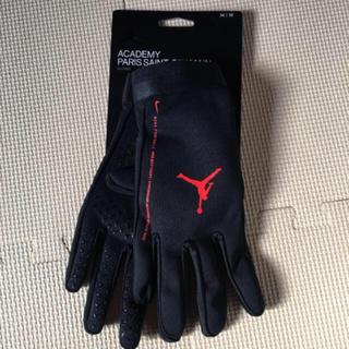 ナイキ(NIKE)のNIKE パリ サンジェルマン JORDAN ジョーダン  手袋 M(その他)