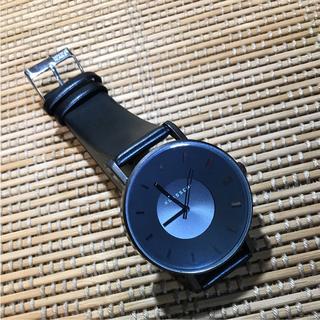 ダニエルウェリントン(Daniel Wellington)のklasse14 42㎜ ブラックメンズレディース 即購入ok(腕時計(アナログ))