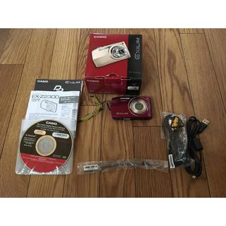 カシオ(CASIO)のCASIO デジタル EXILIM Z2300 パープル EX-Z2300PE(コンパクトデジタルカメラ)