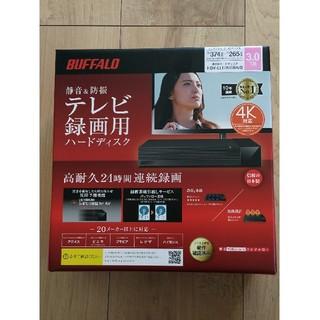 【新品】バッファロー 外付けHDD HDV-LLD3U3BA/D テレビ録画(その他)
