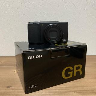 リコー(RICOH)のRICOH リコー GR 2 付属品完備+純正ケース付き(GC-10)(コンパクトデジタルカメラ)