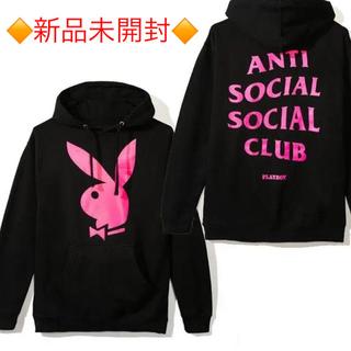 アンチ(ANTI)の【新品】ANTI SOCIAL SOCIAL CLUB PlayboyパーカーM(パーカー)