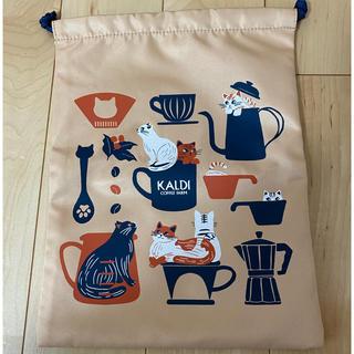 KALDI - カルディ 巾着袋 猫