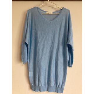 エニィファム(anyFAM)のサマーニット(Tシャツ/カットソー(半袖/袖なし))