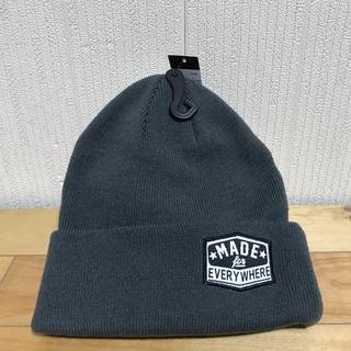 新品 REAL リアル スケートボードブランド ニットキャップ ニット帽(ニット帽/ビーニー)