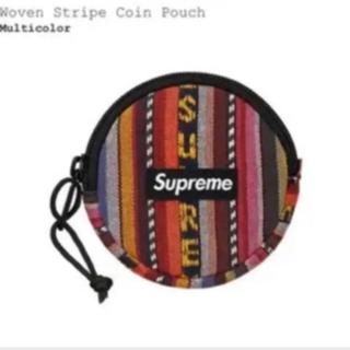 Supreme - Supreme 20ss Woven Stripe Coin Pouch