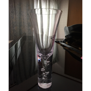 スガハラ(Sghr)のスガハラガラス  カクテル・ワイングラス ペアセット バブル(食器)