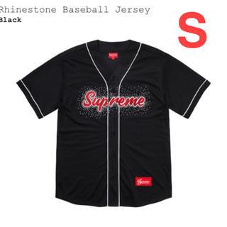 シュプリーム(Supreme)のSupreme ベースボールシャツ 黒S(その他)