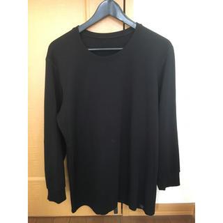 ユニクロ(UNIQLO)のHEATTECH ULTRAWARM  ヒートテックウルトラウォーム   黒色(Tシャツ/カットソー(七分/長袖))