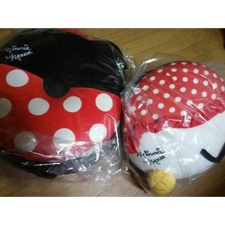 ディズニー(Disney)のミニーマウス 円座&クッション(クッション)