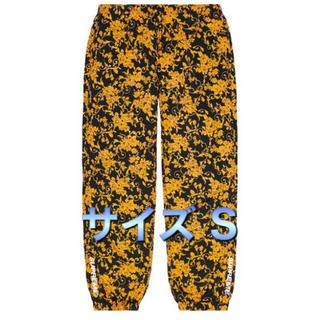 シュプリーム(Supreme)のsupreme warm up pant S black floral(その他)