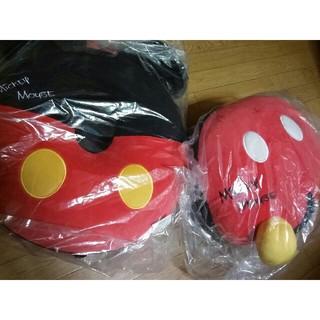 ディズニー(Disney)のミッキーマウス 円座&クッション(クッション)