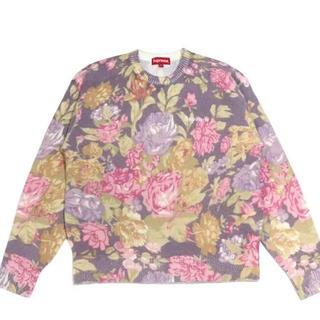 Supreme - Supreme Printed Floral Angora Sweater