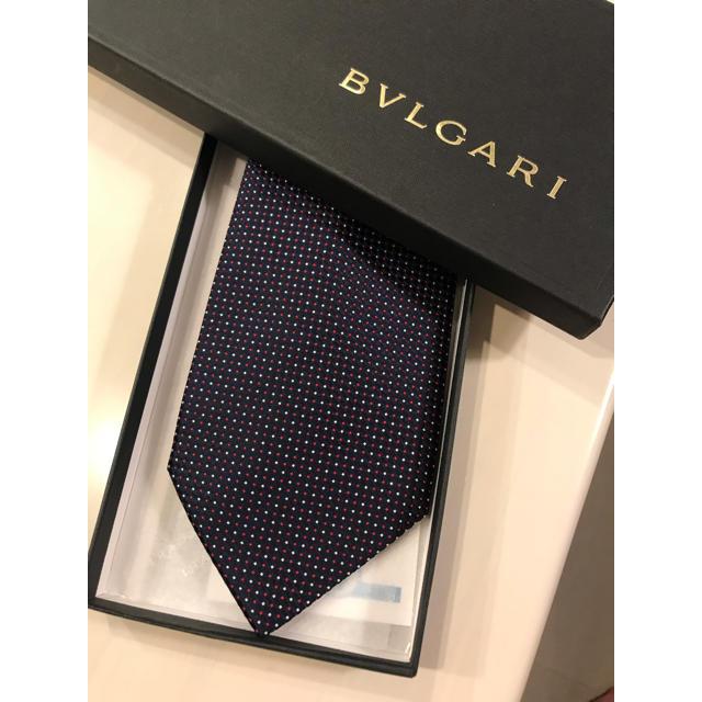 BVLGARI(ブルガリ)の【ほぼ未使用】ブルガリネクタイ/BVLGARI メンズのファッション小物(ネクタイ)の商品写真