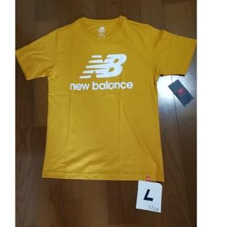 ニューバランス(New Balance)の20春夏モデル‼️new balanceサイズL ビッグロゴT マスタードL (Tシャツ/カットソー(半袖/袖なし))