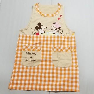 ディズニー(Disney)の6月末削除予定 エプロン ディズニー 保育士 幼稚園 保育園 先生ミッキーミニー(その他)