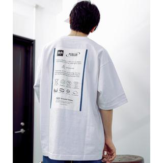 KANGOL - PUBLUX ビッグシルエットバックプリントTシャツ