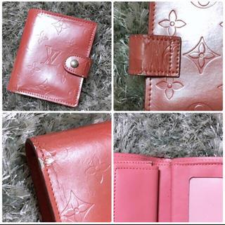 LOUIS VUITTON - ピンク 二つ折り 財布