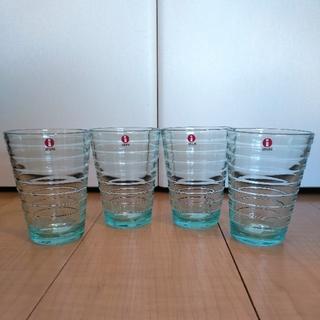 イッタラ(iittala)のイッタラ アイノアアルト ハイボール グラス 4点セット 新品 未使用(グラス/カップ)