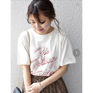 シップス(SHIPS)の未使用新品SHIPS☆ROCKプリントTシャツ(Tシャツ/カットソー(半袖/袖なし))