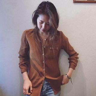 Fabiane Roux - nowos 新品 今期 完売 コットンシャツ ノーウォス shinzone