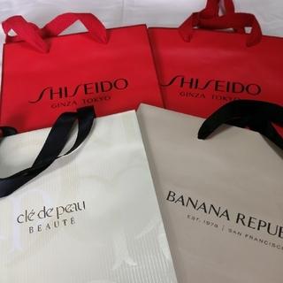 シセイドウ(SHISEIDO (資生堂))の資生堂 BANANAREPUBLIC 紙袋 4枚セット(ショップ袋)