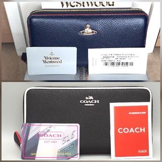 ヴィヴィアンウエストウッド(Vivienne Westwood)の【さくら様専用】ヴィヴィアン&COACH長財布(長財布)