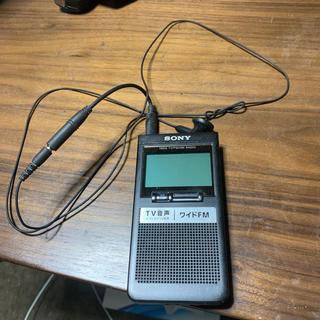 ソニー(SONY)のAM.FMラジオ(ラジオ)