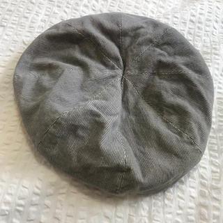 グレーベレー帽(ハンチング/ベレー帽)