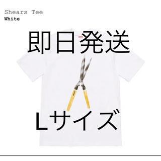 シュプリーム(Supreme)の19ss Supreme Shears Tee White L(Tシャツ/カットソー(半袖/袖なし))