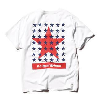 エフシーアールビー(F.C.R.B.)の「F.C.Real Bristol EMBLEM TEE WHITE M」(Tシャツ/カットソー(半袖/袖なし))