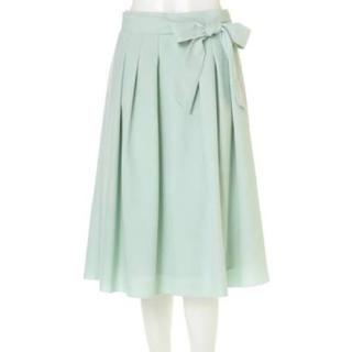 アリスバーリー(Aylesbury)の新品未使用 アリスバーリー リボン付スプリングカラースカート9号(ひざ丈スカート)