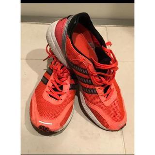 アディダス(adidas)のアディダス オレンジ ランニング スニーカー ウォーキング(シューズ)