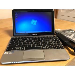 SAMSUNG - Samsung NC210 コンパクト ノートパソコン PC シルバー