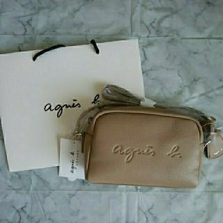 agnes b. - 新品⭐アニエスベーエンボスロゴショルダーバッグ
